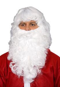 weißer Nikolausbart Weihnachtsmann Bart Nikolaus Weihnachten