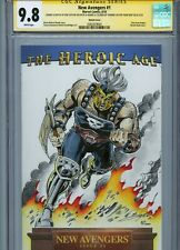 ARES Sketch cover art by BOB LAYTON CGC SS 9.8 Marvel Avengers Thor
