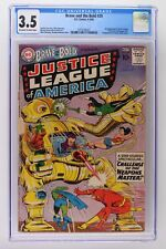 Brave and the Bold #29 - DC 1960 CGC 3.5 2nd App of Justice League of America!