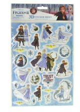 Nip Disney Frozen 2 Raised 3D Sticker Sheet 24 Count Ages 3 And Up