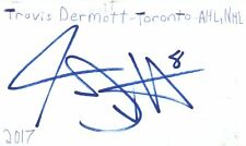 Travis Dermott Toronto Nhl Hockey Autographed Signed Index Card