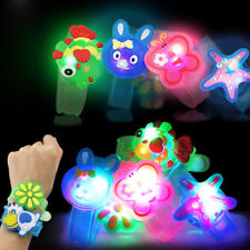 Luminous Toy Cute Cartoon Wrist Colorful Light Party Toy Gifts For Kids Soft