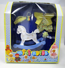 Berchet French Doll Nursery Accessories, Rocker,Toys, Outfit, 8 inch Doll NIB