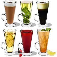ColumbiaN Latte Macchiato Bicchieri Vetro Tassimo Costa Cappuccino tazze di caffè - 280ml-x6