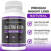 Electro Keto Pills Burn Fat Increase Energy Advanced Weight Loss 360 Slim Pills