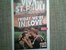 Programm FC St.Pauli - FSV Frankfurt 15/16