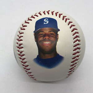 VTG Fotoball 1994 KEN GRIFFEY, JR Seattle Mariners 1993 Stats