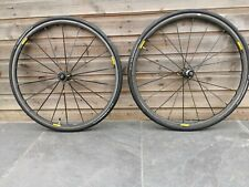 Mavic Ksyrium SLR Clincher Elaxith Wheelset Carbon Hub including tyres