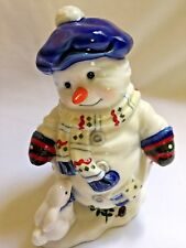"Vintage Enesco Priscilla Hillman Snow Folks ""Let's Have a Ball"" 276057 Retired"