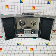 Vintage Sharp RD-708V Solid State Reel-to-Reel Stereo Tape Recorder 1974 Working
