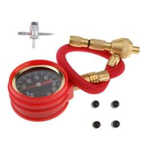 Tyre Deflator Rapid Tire Air Pressure Gauge Pointer Type Dial Valve Tool 75PSI