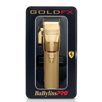 New Babyliss Pro Gold FX870G Cordless Clipper 100-240 Volts 50-60 Hz