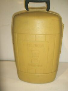 VINTAGE COLEMAN CLAM SHELL CARRY CASE FOR 220 228 275 LANTERN