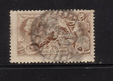 s186 | Great Britain, George V, light brown, worn plate, Scott #173a
