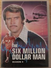 DVD TV SHOW THE SIX MILLION DOLLAR BIONIC MAN COLLECTION EIGHT DISC SET SEASON 4