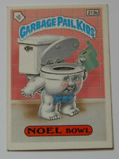 GARBAGE GANG  STICKER NOEL BOWL 213b 1987