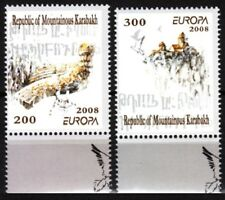 ARMENIA / KARABAKH 2008 EUROPA: Letter Writing. Set Perforated, MNH