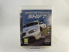 NEED FOR SPEED SHIFT 1 I SONY PS3 PLAYSTATION 3 PAL ITALIANO ORIGINALE COMPLETO