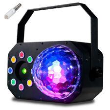 American DJ ADJ Stinger Star LED Moonflower + Multicolour Wash + Red Green Laser