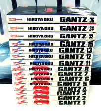 GANTZ 1-8 11-13 15 32 34 36 - HIROYA OKU - PLANET MANGA MODENA