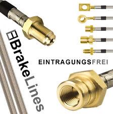 Für Nissan 200 SX S13 Stahlflex Bremsschläuche/Leitung
