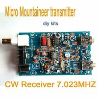 Micro Mountaineer Transmitter Receiver CW Ham Amateur Shortwave HF Radio diy kit