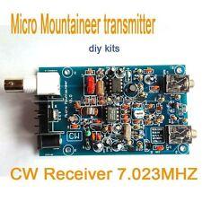 Micro Mountaineer Transmitter Receiver CW Ham Amateur Shortwave HF Radio diy kit