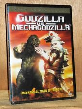 Godzilla Vs Mechagodzilla (DVD, 2004, 50th Anniv) mechanical titan of terror NEW