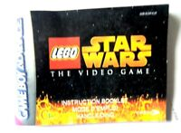51828 Instruction Booklet - LEGO Star Wars The Video Game - Nintendo Game Boy Ad