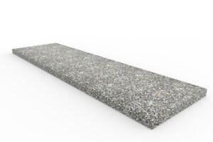 Mauerabdeckung Granit Rosa Beta geflammt und gebürstet - 100x25x2cm