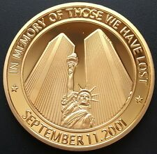 In Memory Of Those We Have Lost - September 11th Coin / Token - American Heroes