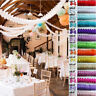 Tissue Paper Garland Buntings Wedding Party Banner Hanging Celebration Decor NR7