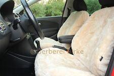 Auto Fell Lammfell Sitzbezug Schonbezug Sitzschoner Beige Kein Patchwork!