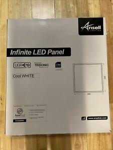 Ansell Infinite LED 35w 595x595 Recessed Ceiling Panel Cool White AIRMLED/CW