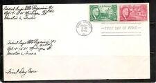 US SC # 931 Roosevelt  FDC .No Cachet