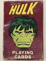 Vintage 1979 Marvel Comics The Incredible Hulk Playing Cards Deck Sealed