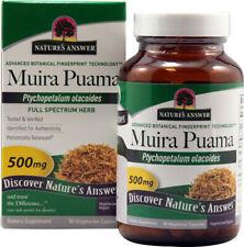 Natures Respuesta - Muira Puama Corteza 500MG Holistically Balanced - 90