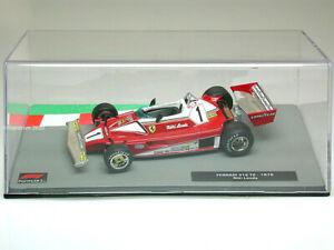 NIKI LAUDA Ferrari 312 T2  - F1 Racing Car 1976 - Collectable Model - 1:43 Scale