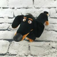 The Secret Life Of Pets Buddy Dachshund Plush Black Long Dog Stuffed Animal Toy