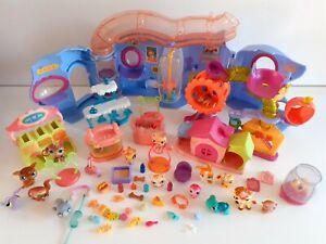 My littlest pet shop Bundle Playset Figures And Accessories