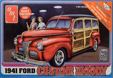 1941 Ford Woody 1:25 AMT Model Kit Bausatz AMT906