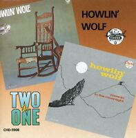 Howlin' Wolf - Moanin in the Moonlight & Howlin Wolf [New CD]