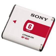 2 New OEM Sony NP-BG1 Camera Battery for Cyber Shot DSC-T100/20 N1/2 W30/300