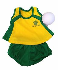 Netball Clothing Outfit by Stufflers – Will fit on a Build a bear