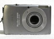 Canon PowerShot ELPH SD630 / IXUS 65 6.0MP Digital Camera Silver  GOOD - TESTED
