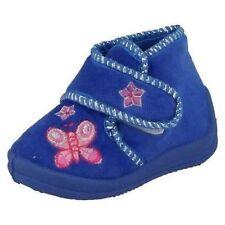 Scarpe Pantofole blu con chiusura a strappo per bambine dai 2 ai 16 anni