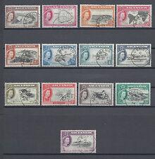 ASCENSION 1956 SG 57/69 Fine Used Cat £80