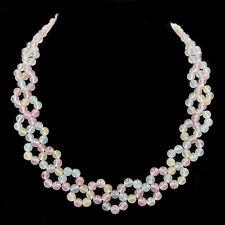 BAILYSBEADS edle mehrfarbige Edelsteine Kette Halskette Größenverlauf neu b23