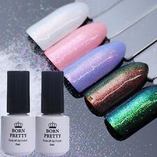 5Pcs Nail Glitter Powder Chameleon Mermaid Chrome Pigment Top Base Coat UV Gel