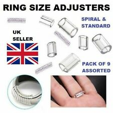 Ring Size Reducers Ring Snuggies Snugs Clip Guard Resizer Adjusters 9 Pieces